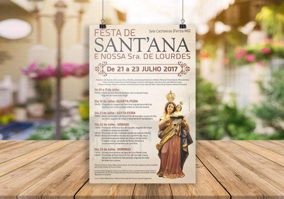 Material para festa de Sant'Ana